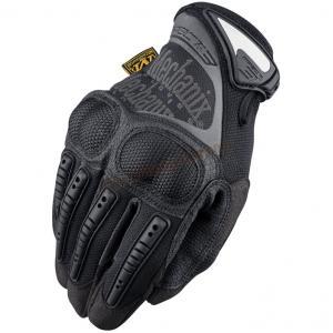 ถุงมือเต็มนิ้ว Mechanix M-PACT 3 Ultra Knuckle Protection สีดำ