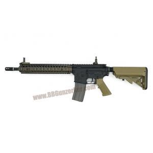 "E&C 620S : MK18 Carbine 12"" สีทราย บอดี้เหล็ก JR.Custom Gen 3"