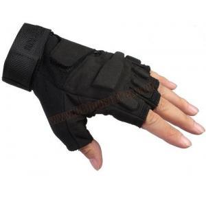 ถุงมือครึ่งนิ้ว BlackHawk สีดำ