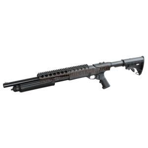 M870 STR ท้าย M4 (ลูกซองอัดแก๊ส-คัดปลอก) - PPS