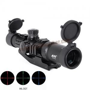 กล้องเล็งไว Scope ANS Optical 1.5-4x30 CQB เป้า Mil-Dot