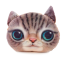 หมอนหน้าน้องแมว 3 มิติ ขนาด 50x40 cm (พร้อมส่ง+Pre) thumbnail 2