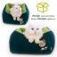 ที่นอนหนานุ่มสำหรับน้องแมว ขนาด 45x45x25 cm thumbnail 2