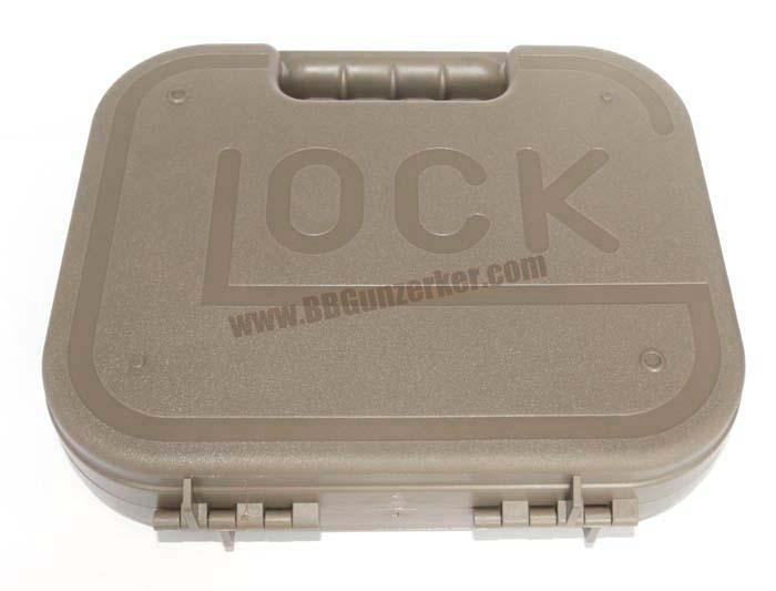 กล่องไฟเบอร์ปืนสั้น GLOCK สีทราย