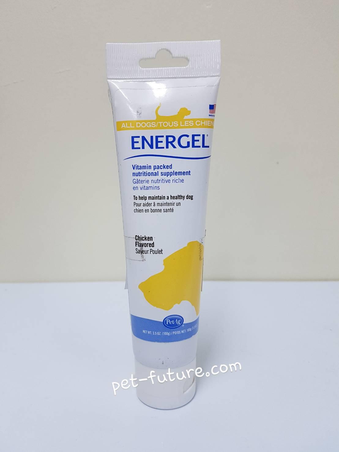 ENERGEL for dog เจลเพิ่มพลังงานสูง Exp.01/19