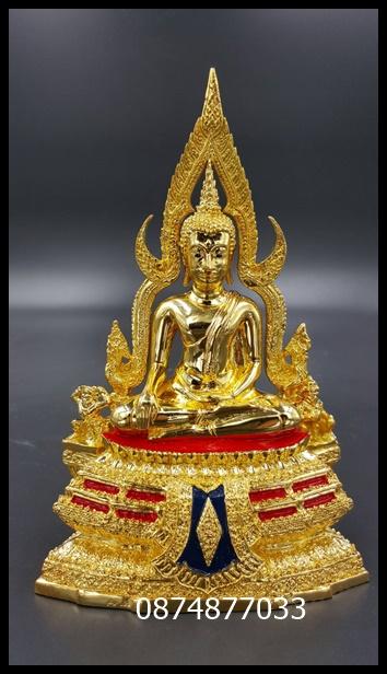 พระพุทธชินราช กระไหล่ทอง หน้าตัก3 นิ้ว จากวัดใหญ่ รหัส768