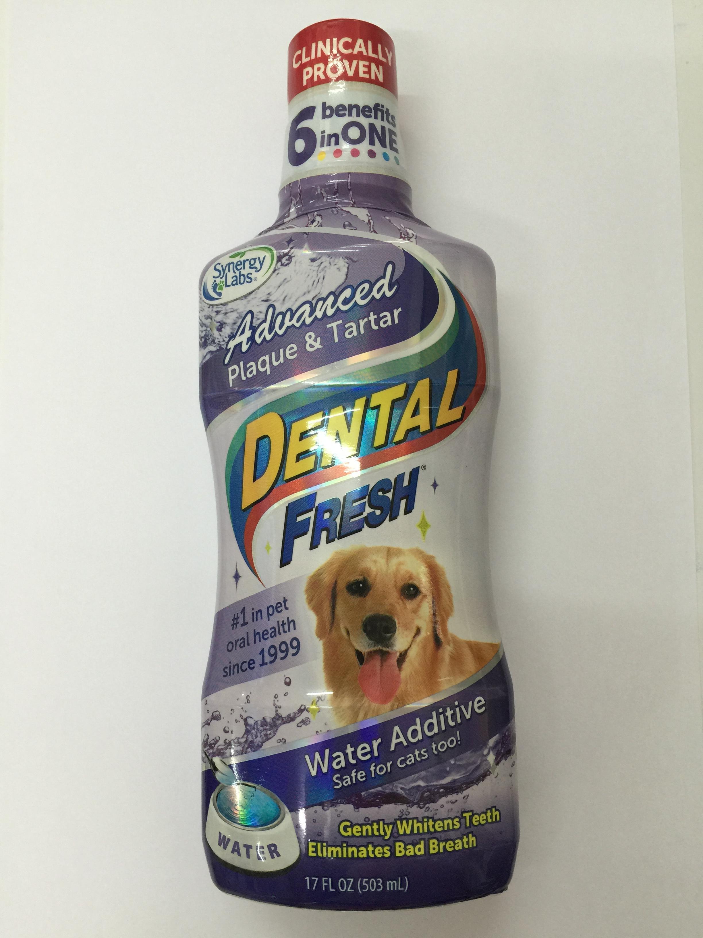 Dental Fresh ขนาด 503 มล. สูตรDental Fresh ขจัดกลิ่นปากยับยั้งการเกิดหินปูน (Exp.07/18)