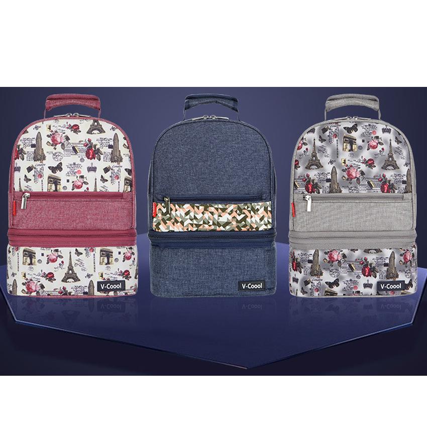 กระเป๋าเป้เก็บความเย็น V-cool 2 in 1