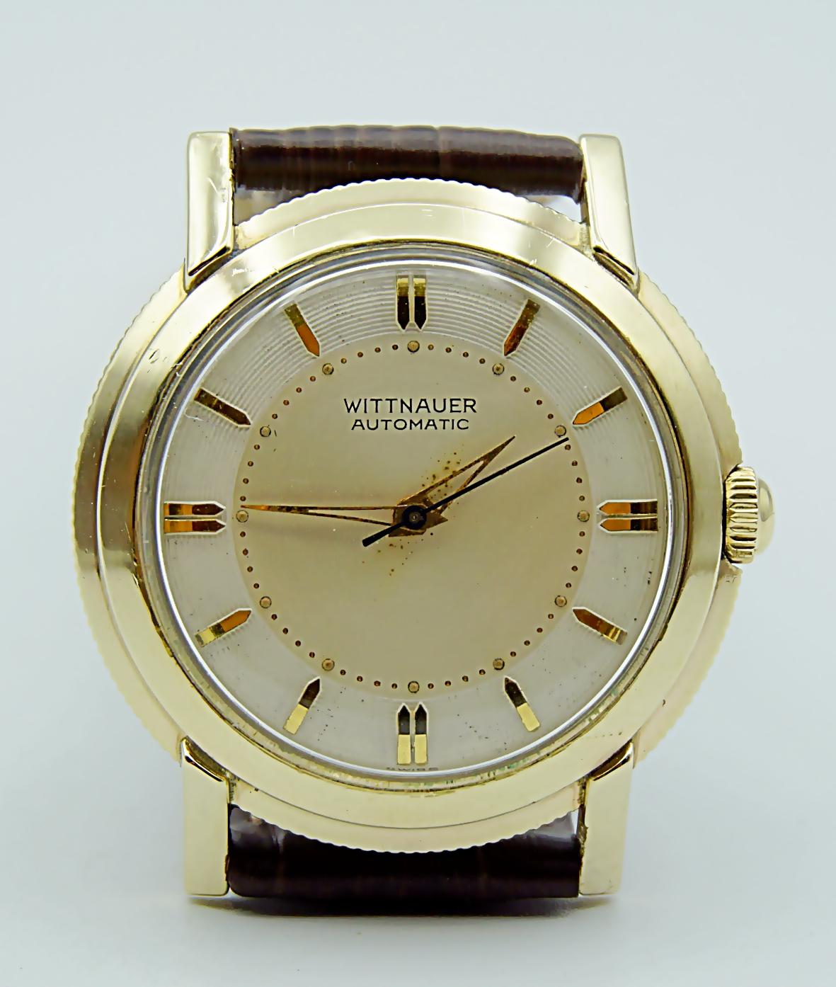 นาฬิกาเก่า WITTNAUER BY LONGINES ออโตเมติก