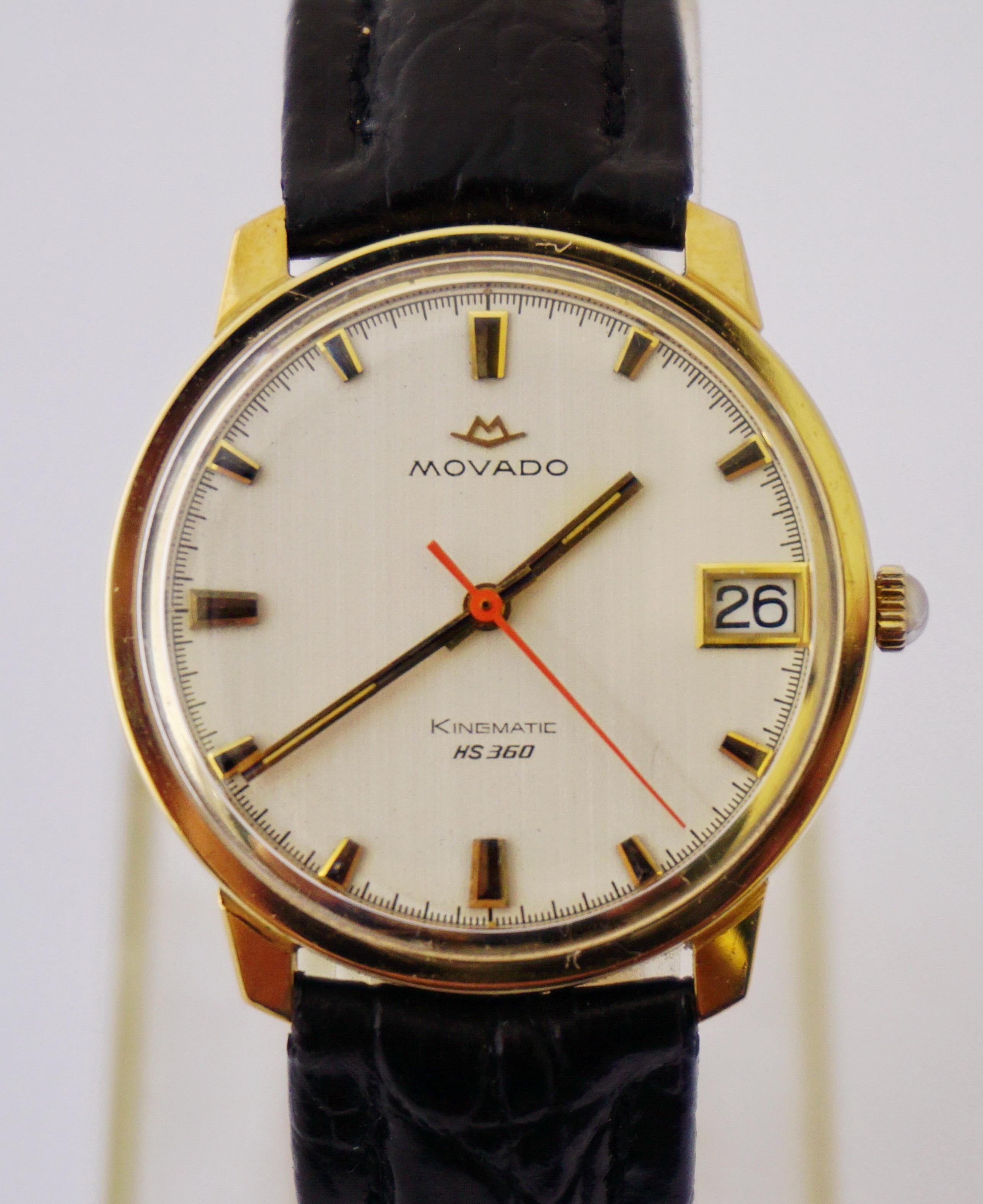 นาฬิกาเก่า MOVADO KINGMATIC HS 360