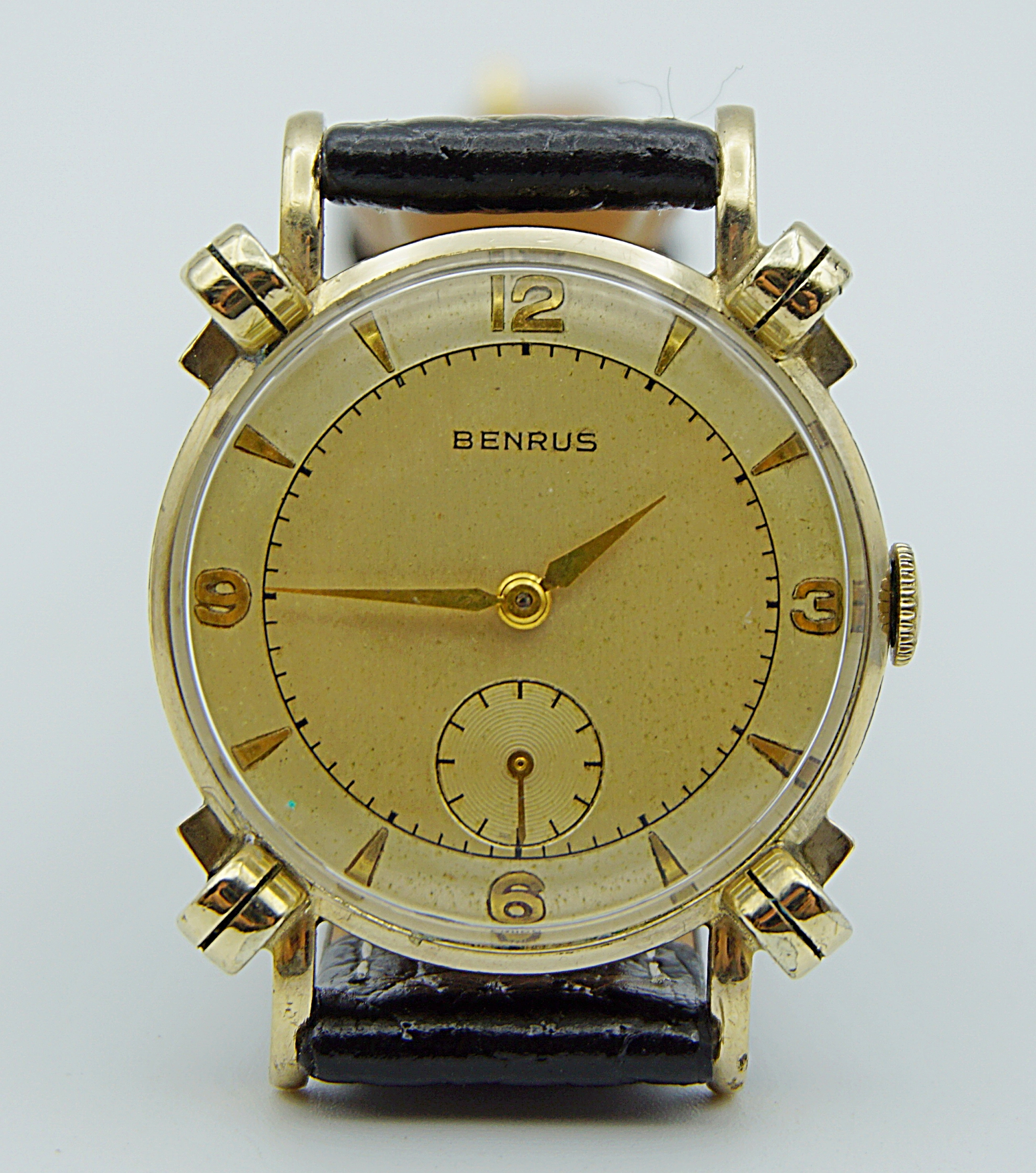 นาฬิกาเก่า BENRUS ไขลานสองเข็มครึ่ง
