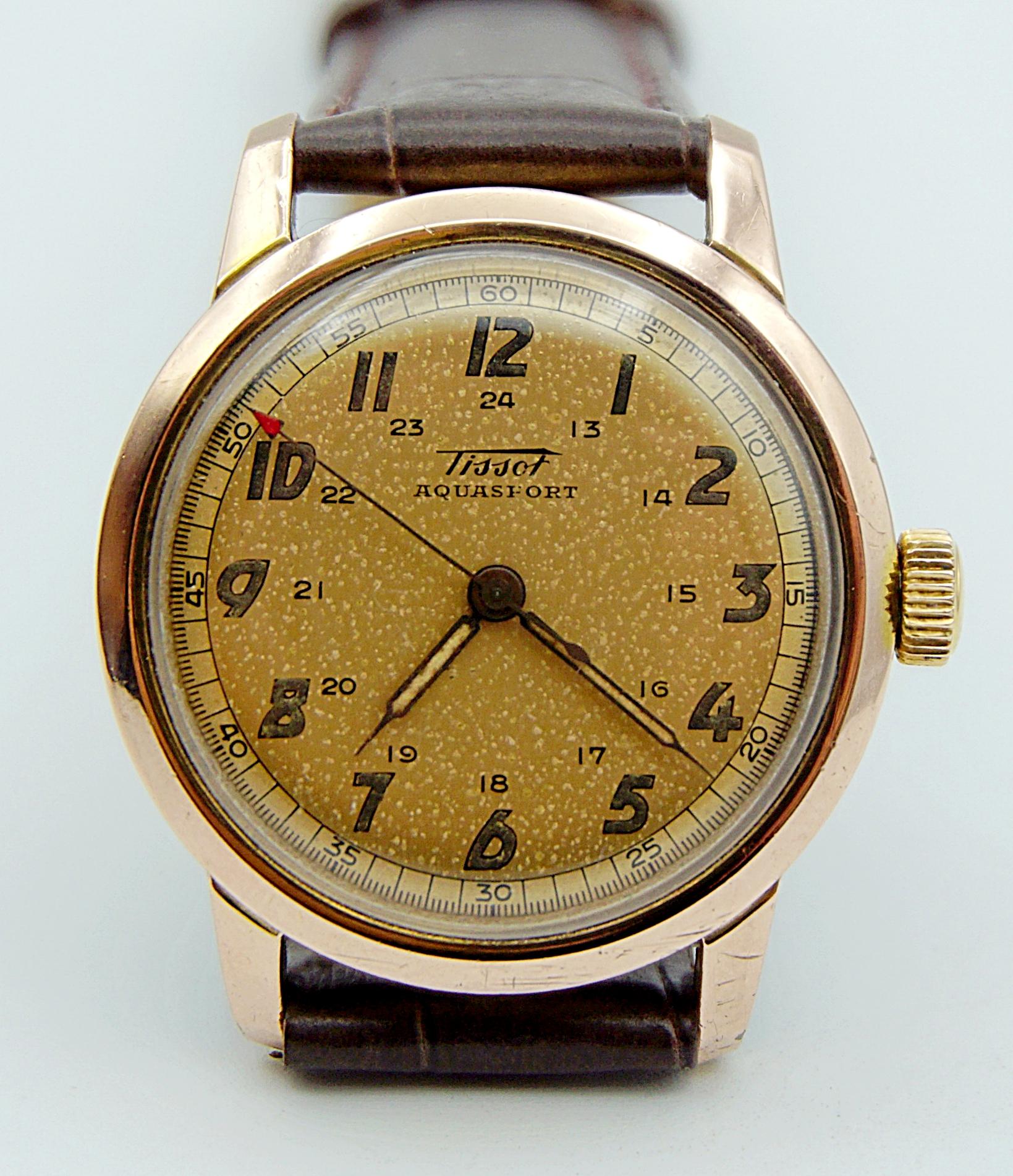 นาฬิกาเก่า TISSOT ไขลาน