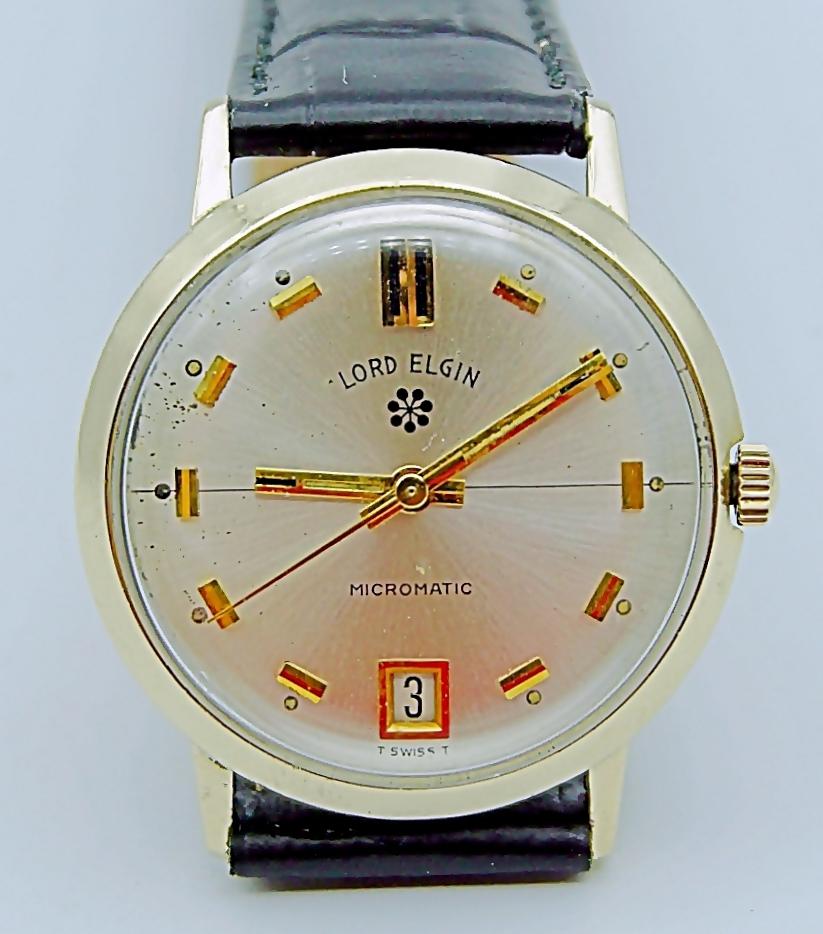 นาฬิกาเก่า LORD ELGIN ออโตเมติก