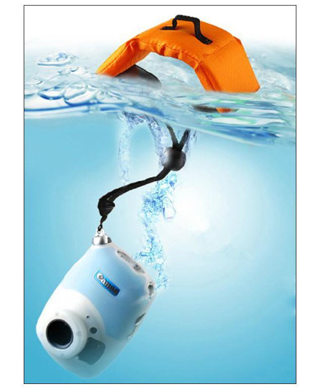 สายคล้องกล้องลอยน้ำ สำหรับกล้องGopro กล้องคอมแพ็ค กล้องมิลเลอเลสขนาดเล็ก