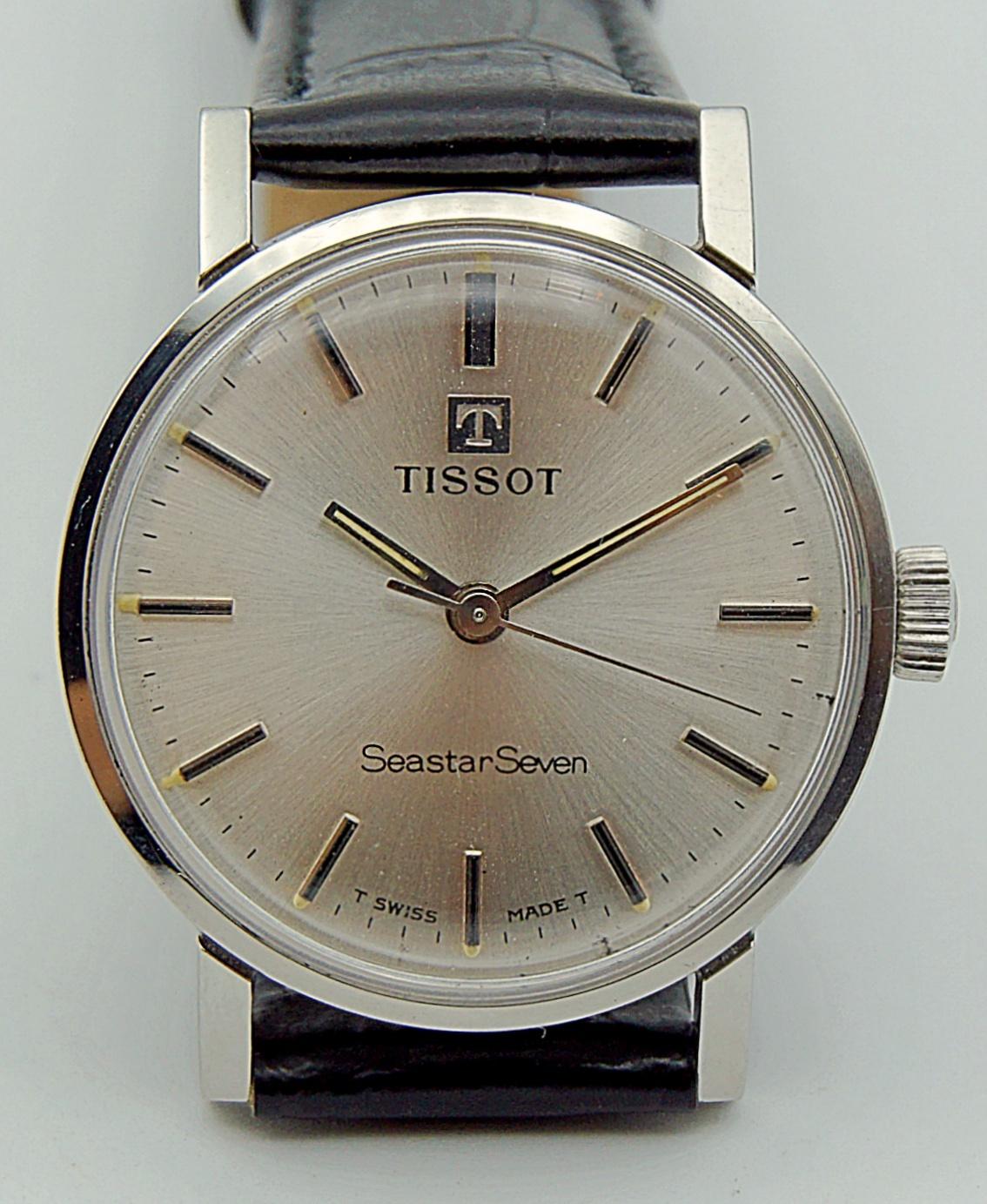 นาฬิกาเก่า TISSOT SEASTAR ไขลาน