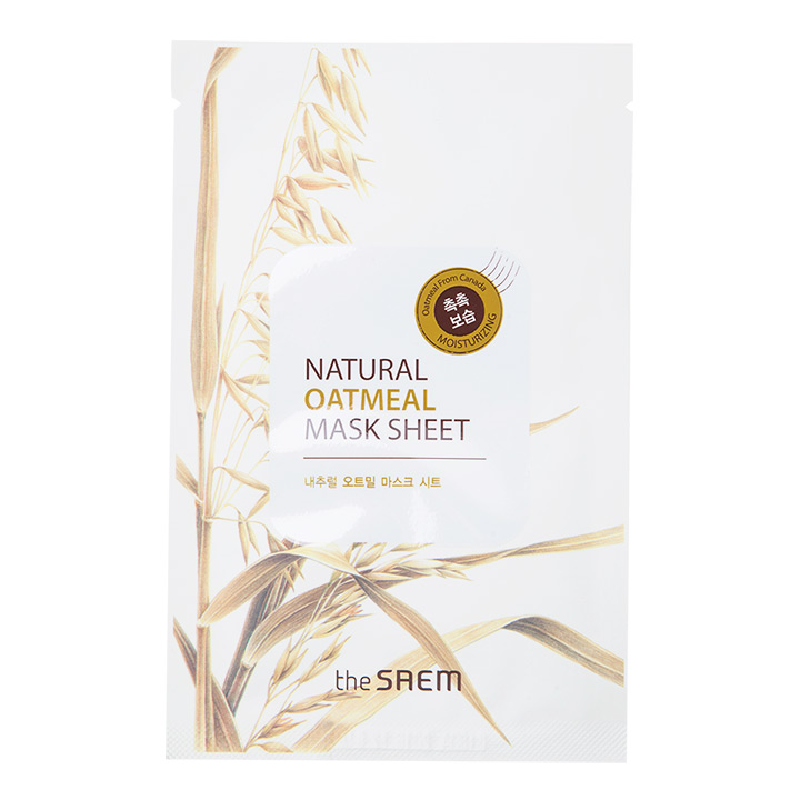 The Saem Natural Oatmeal Mask Sheet