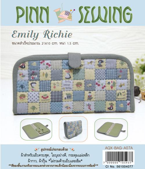 กระเป๋าใส่ธนบัตร Emily Richie (Blue)