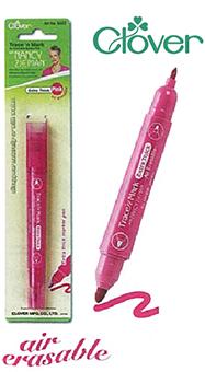 ปากกาแต้มผ้า 2 ขนาด ชนิดเลือนหายได้