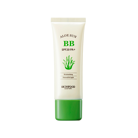 Skinfood Aloe Sun BB Cream SPF20 PA+ New #2 Natural Beige
