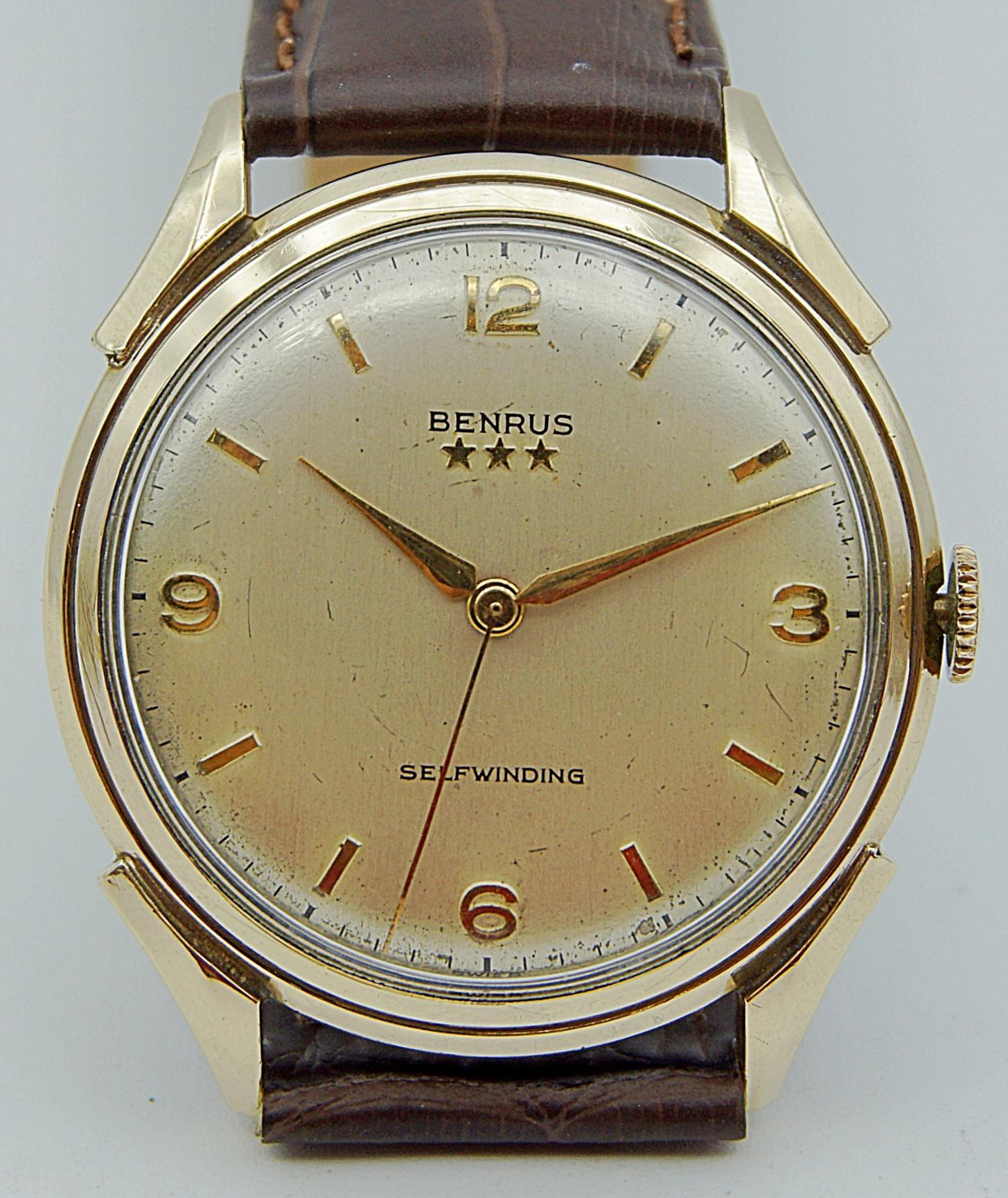 นาฬิกาเก่า BENRUS ออโตเมติก