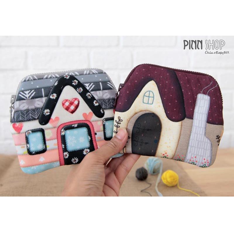 ผ้าพิมพ์ลาย Mini Hut 2