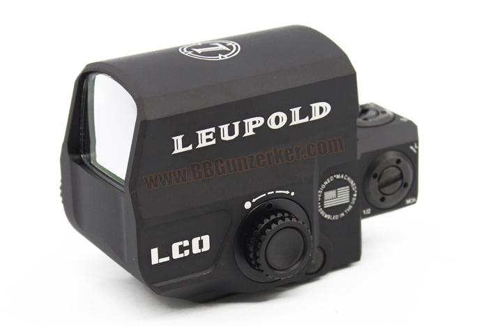 Red Dot Leupold Carbine Optic (LCO) สีดำ