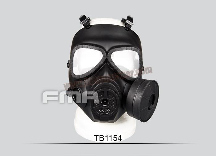 หน้ากากแก๊ส M04 FMA มีพัดลมระบายอากาศ