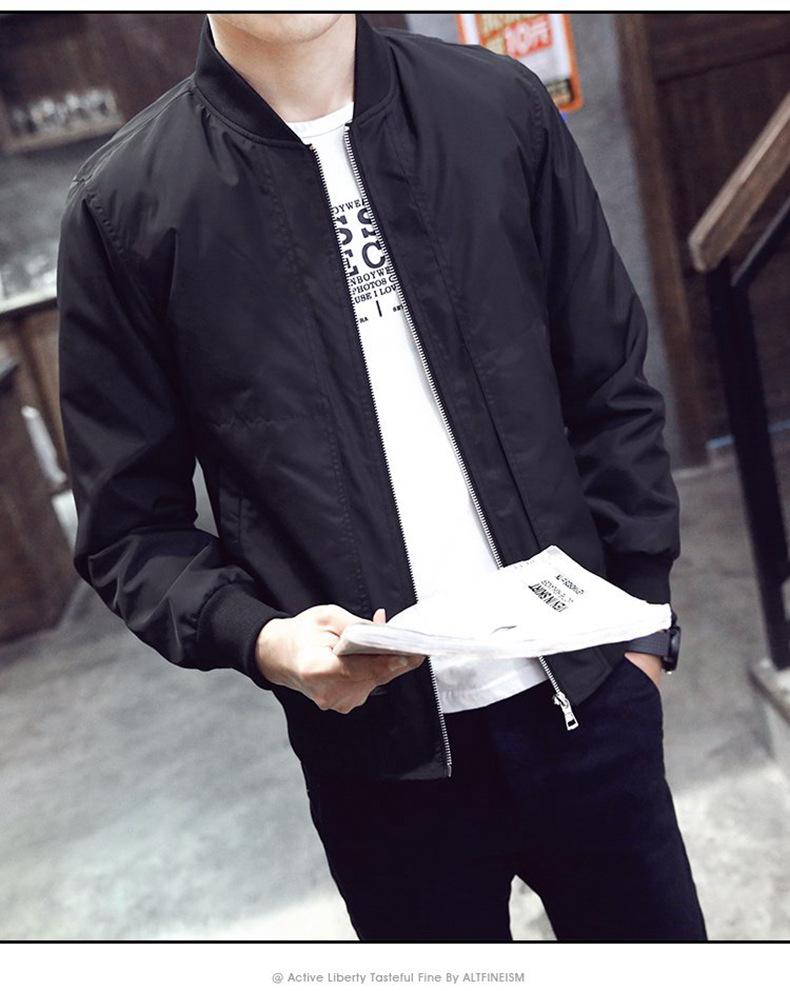 fashion แจ็คเก็ตสไตล์เกาหลี สีดำ (รอสินค้า15-20วัน)