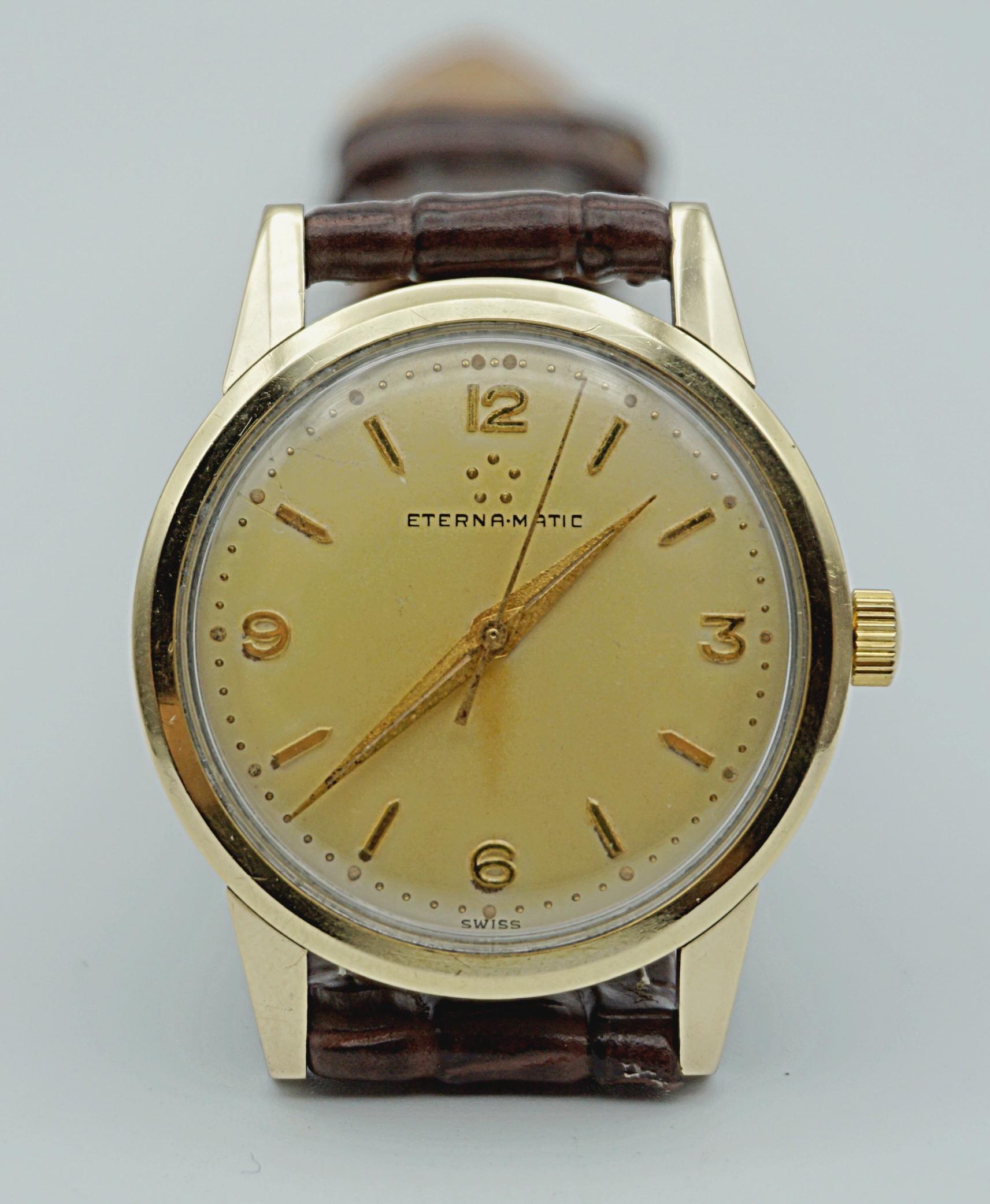 นาฬิกาเก่า ETERNA ออโตเมติก
