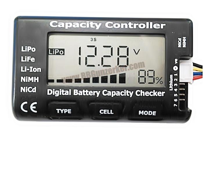 Digital Battery Checker