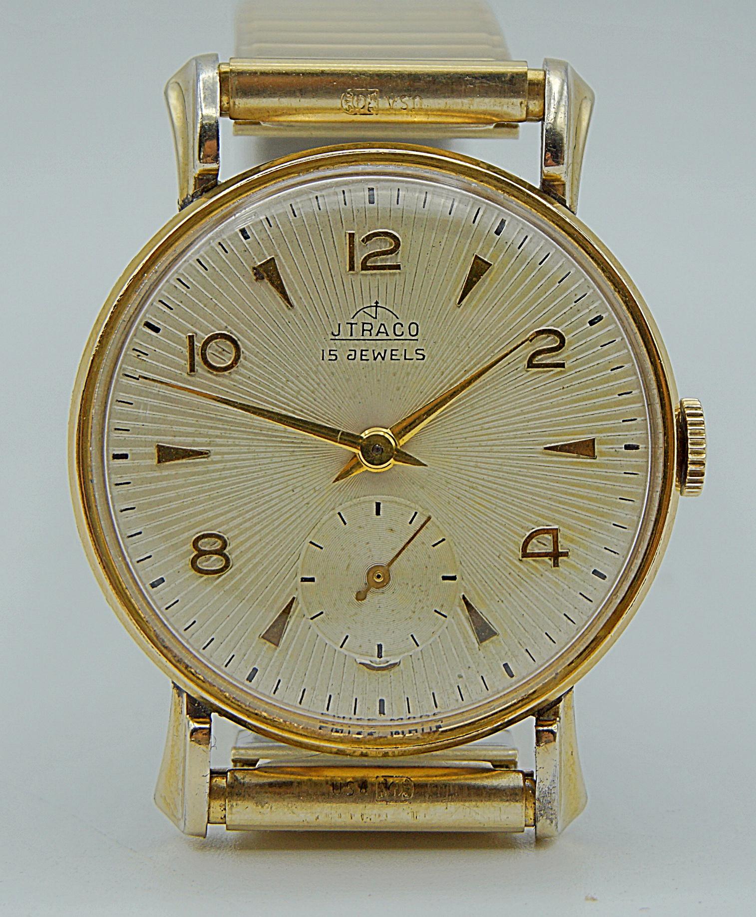 นาฬิกาเก่า JTRACO ไขลานสองเข็มครึ่ง