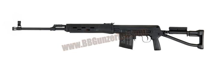 SVD-S Dragunov (AEG) สีดำ - A&K สไนเปอร์ไฟฟ้า