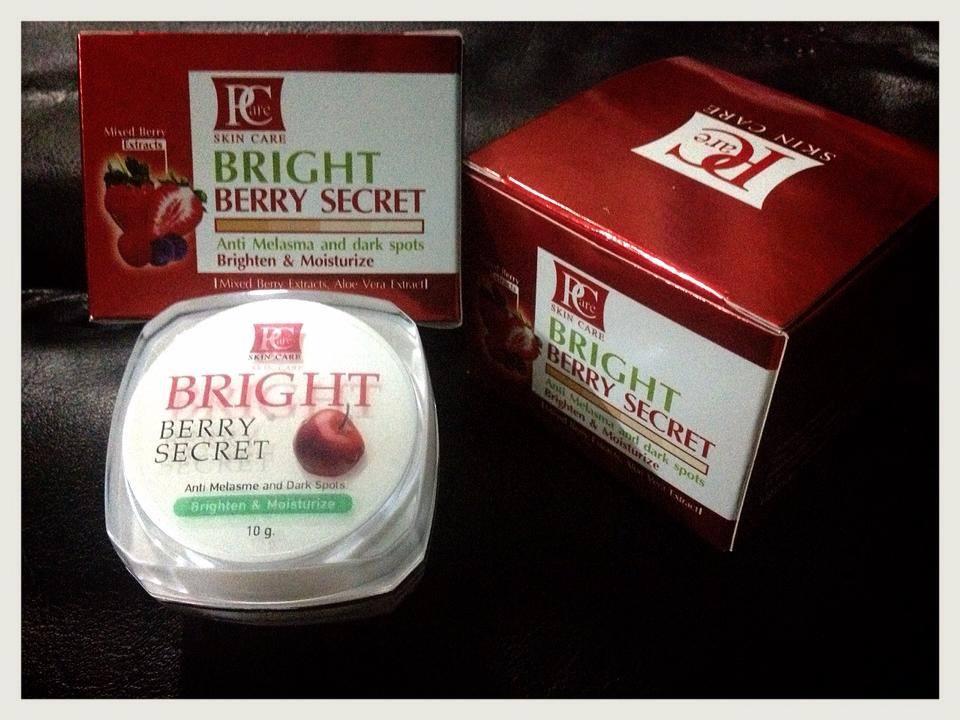 pcare skincare,พีแคร์สกินแคร์,หน้าใสไร้สิว,ครีมหน้าใส,Bright Berry Secret Cream,ไบรท์ เบอร์รี่ ซีเครท ,ครีมพีแคร์,ผิวขาวกระจ่างใส,ลดรอยสิว ,ฝ้า กระ จุดด่างดำ