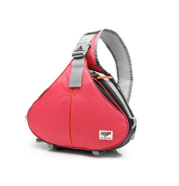 กระเป๋ากล้องสามเหลี่ยมStatin สีชมพู