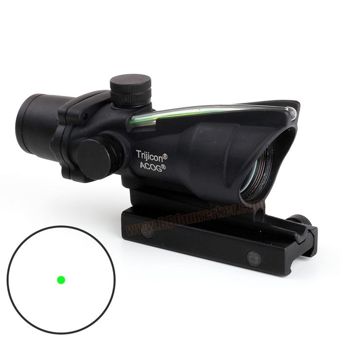 Green Dot Trijicon ACOG TA32 1x32 Green Fiber Optic