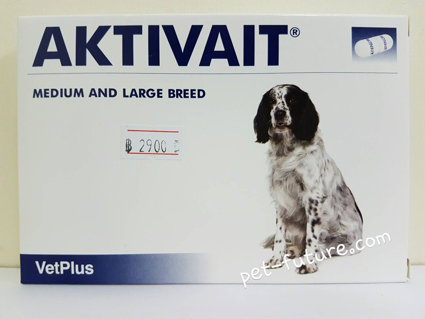 Aktivait medium and large breed 60 แคปซูล Exp.08/19