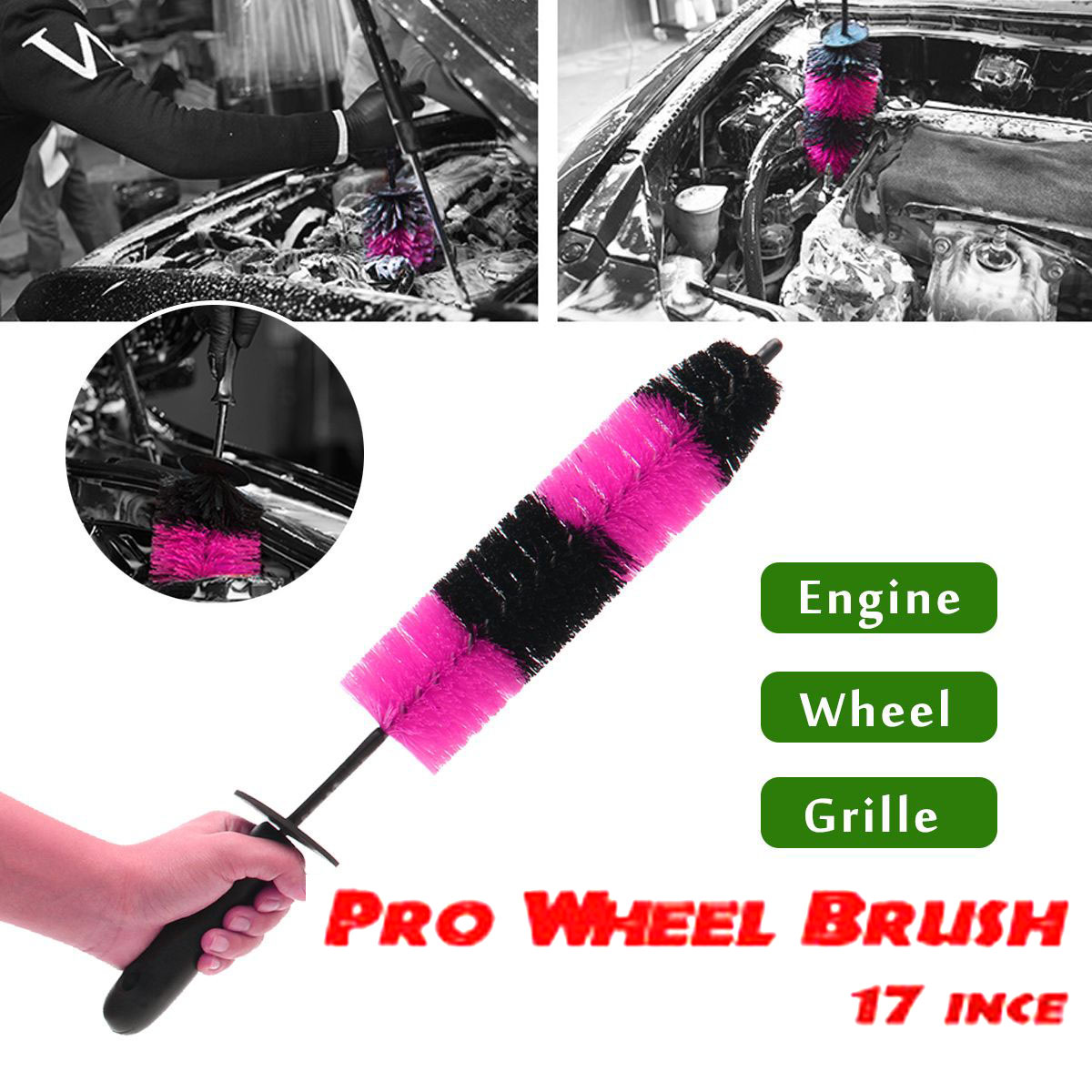 """Pro Wheel Brush ขนาด 17"""""""