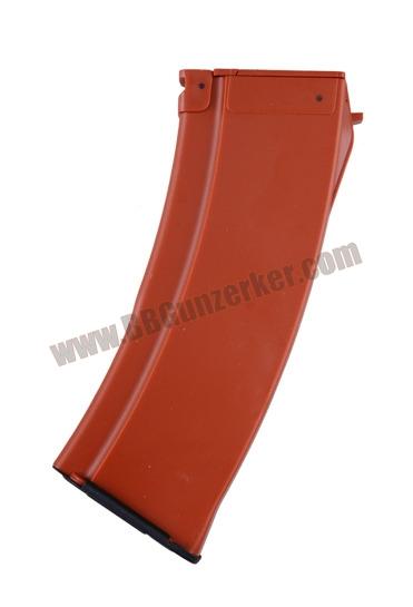 แม๊กกาซีน AK74 สีไม้ (ปั่นลาน-500 นัด)
