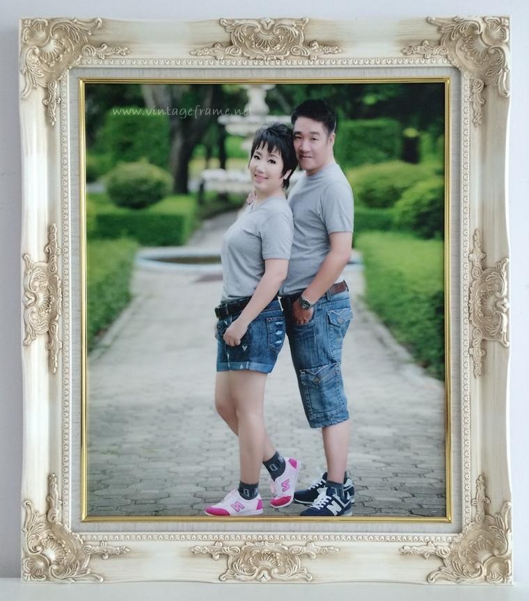 กรอบรูปหน้างานแต่งงานราคาถูก