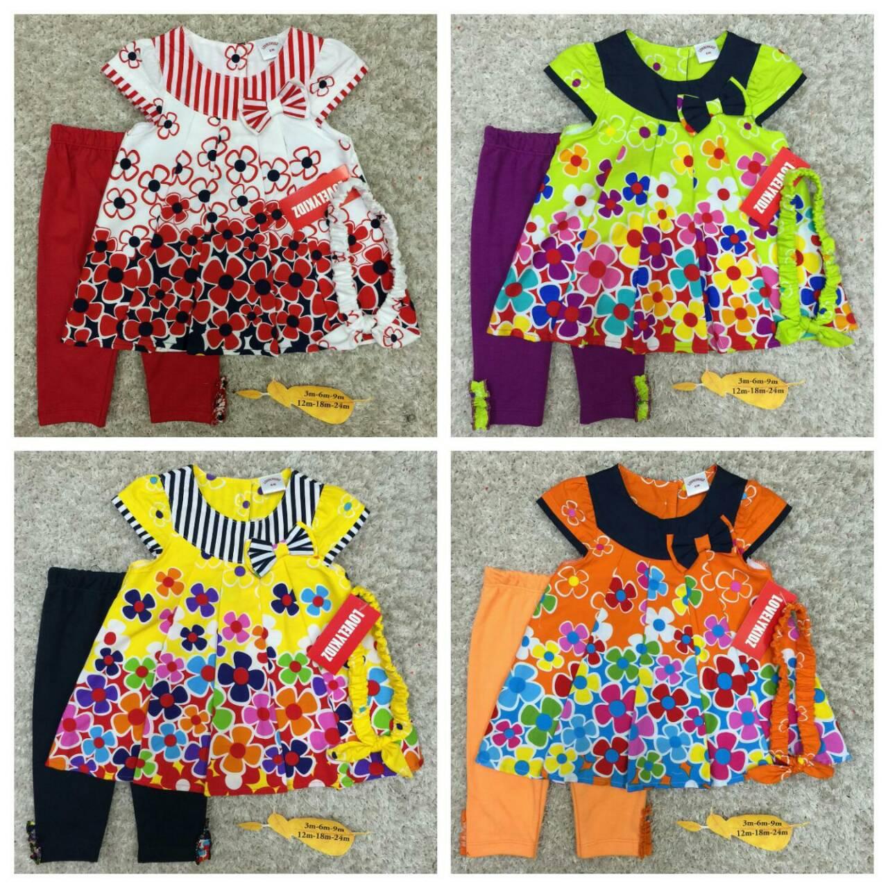 เสื้อผ้าเด็ก (พร้อมส่ง!!) 041060-1