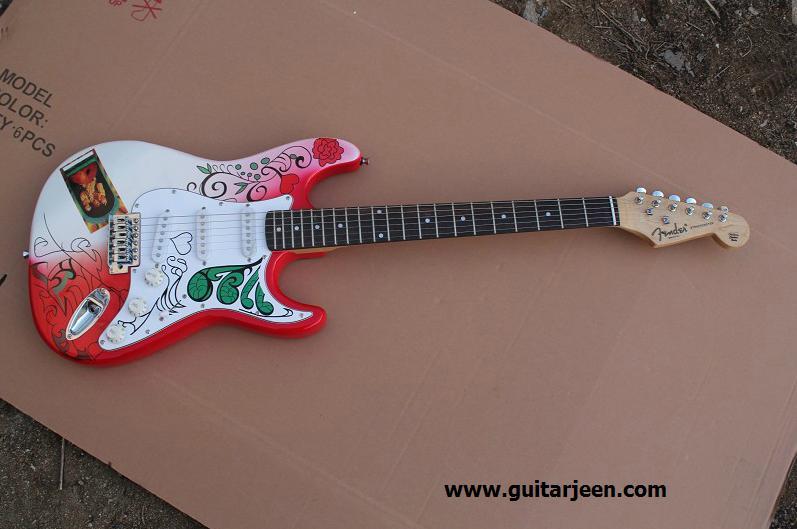 Fender Startocaster JIMI HENDRIX