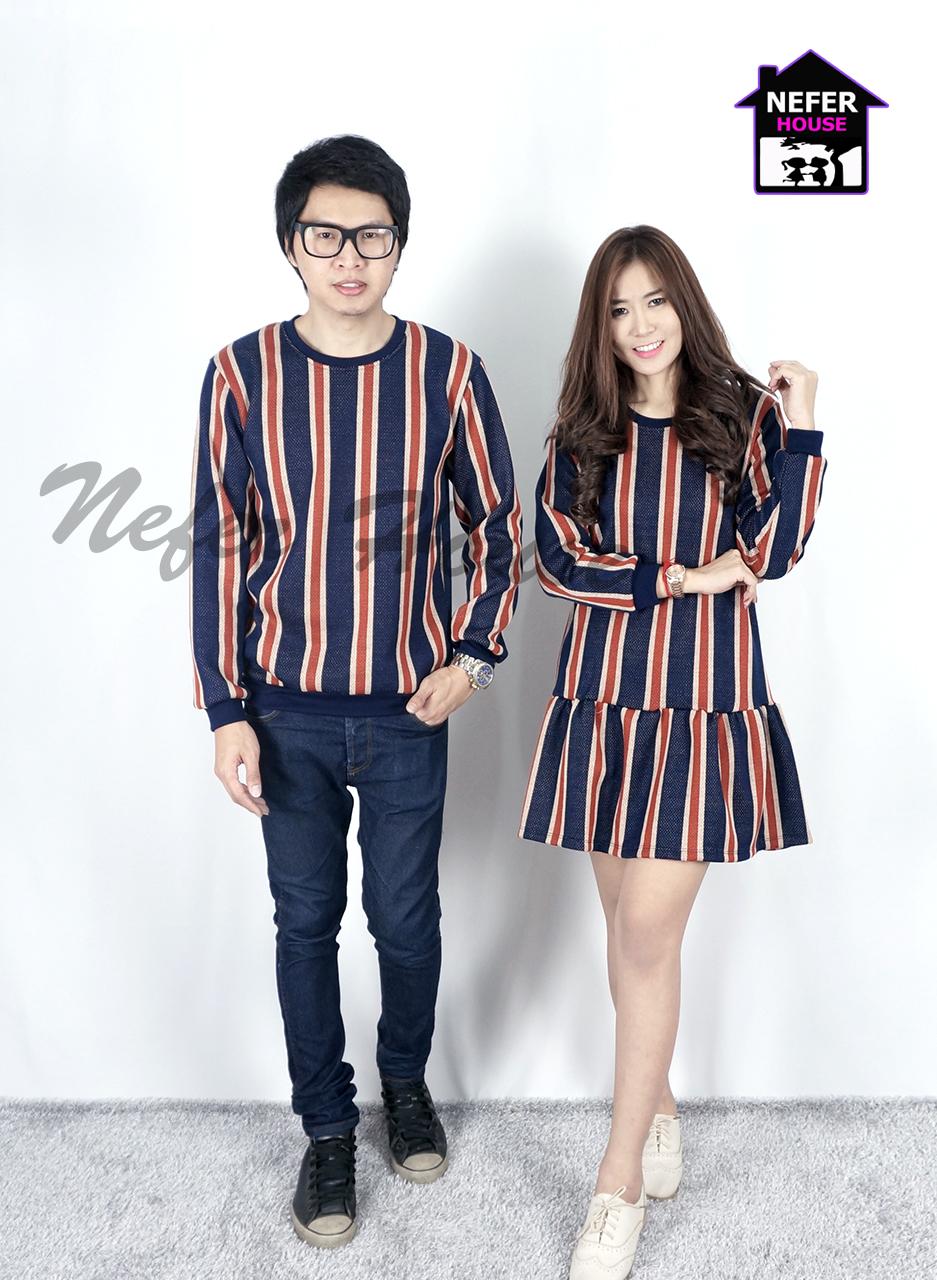 เสื้อคู่รักเสื้อกันหนาวเสื้อคู่รักแขนยาว พร้อมส่ง
