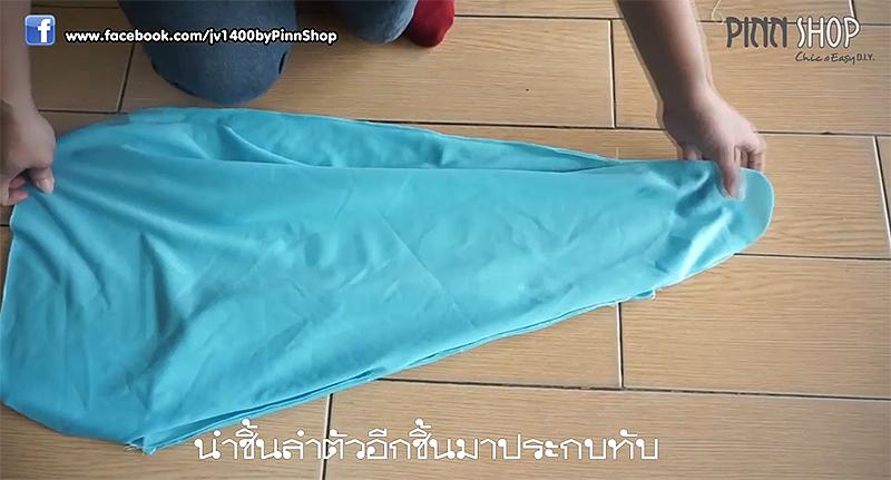จักรเย็บผ้า Brother รุ่น JV1400 เย็บตุ๊กตาปลาหมึก 08
