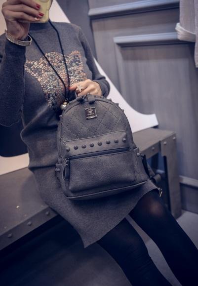 พรีออเดอร์!!! fashion กระเป๋าเป้ สไตล์เกาหลี รุ่น 0593