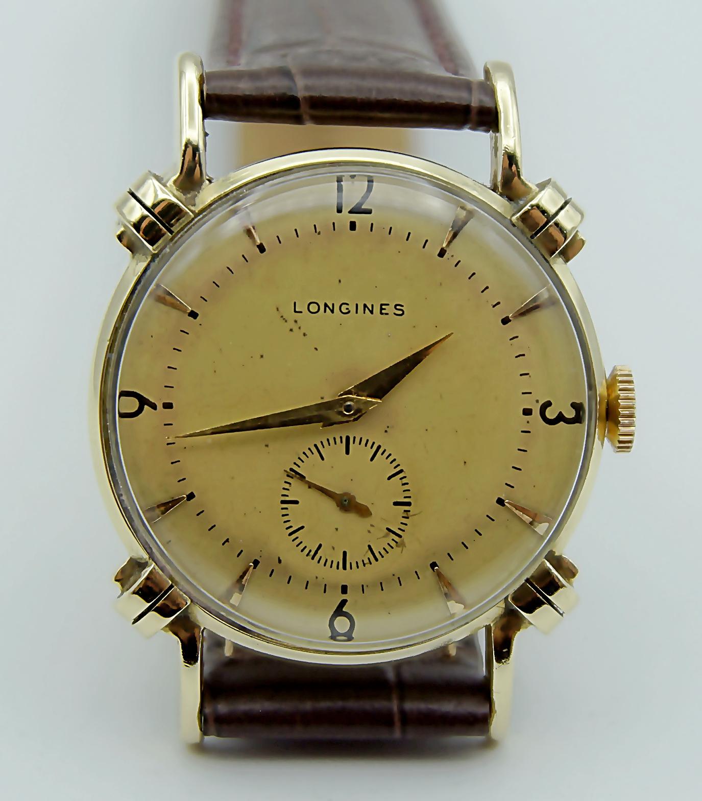 นาฬิกาเก่า LONGINES ไขลาน ตัวเรือนทองคำแท้