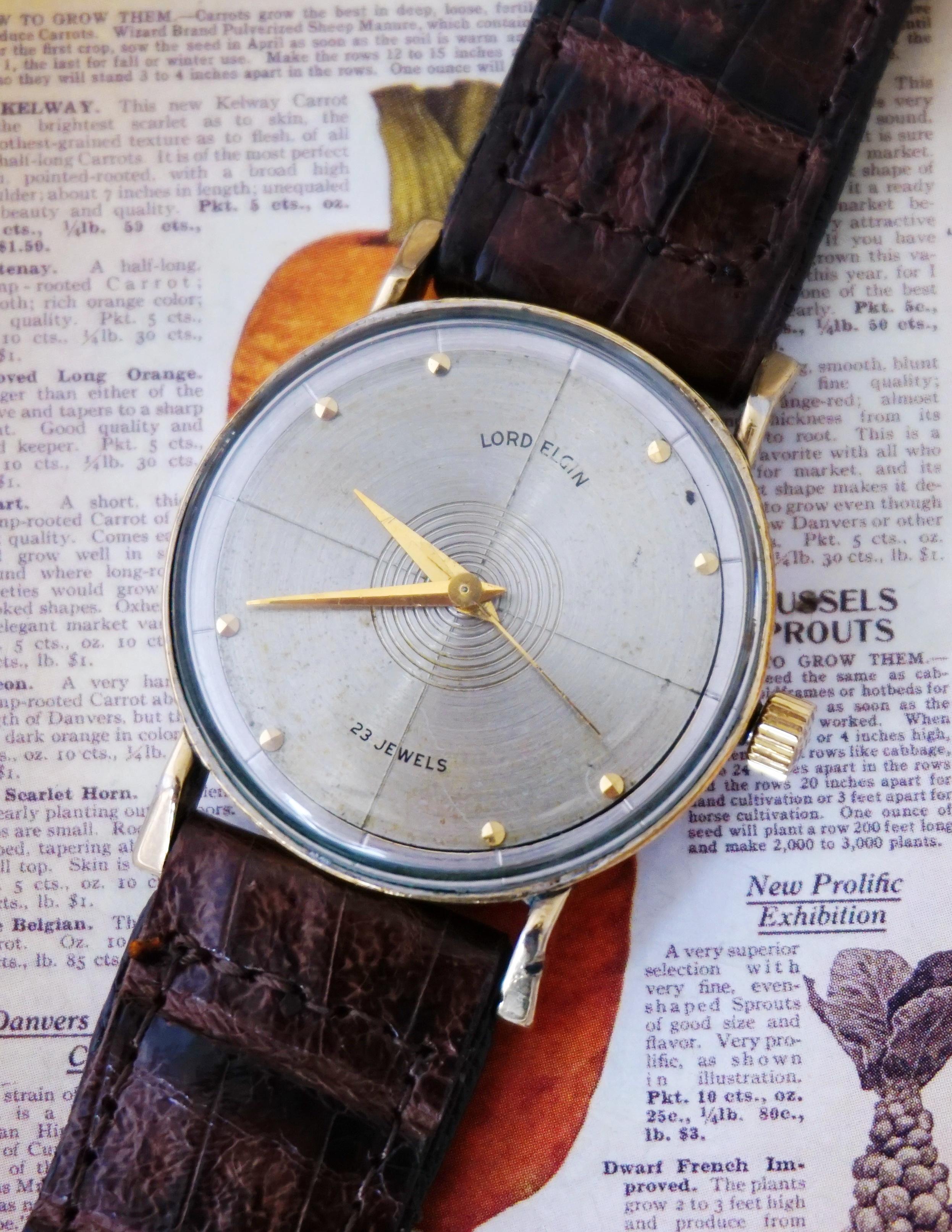 นาฬิกาเก่า LORD ELGIN ไขลาน