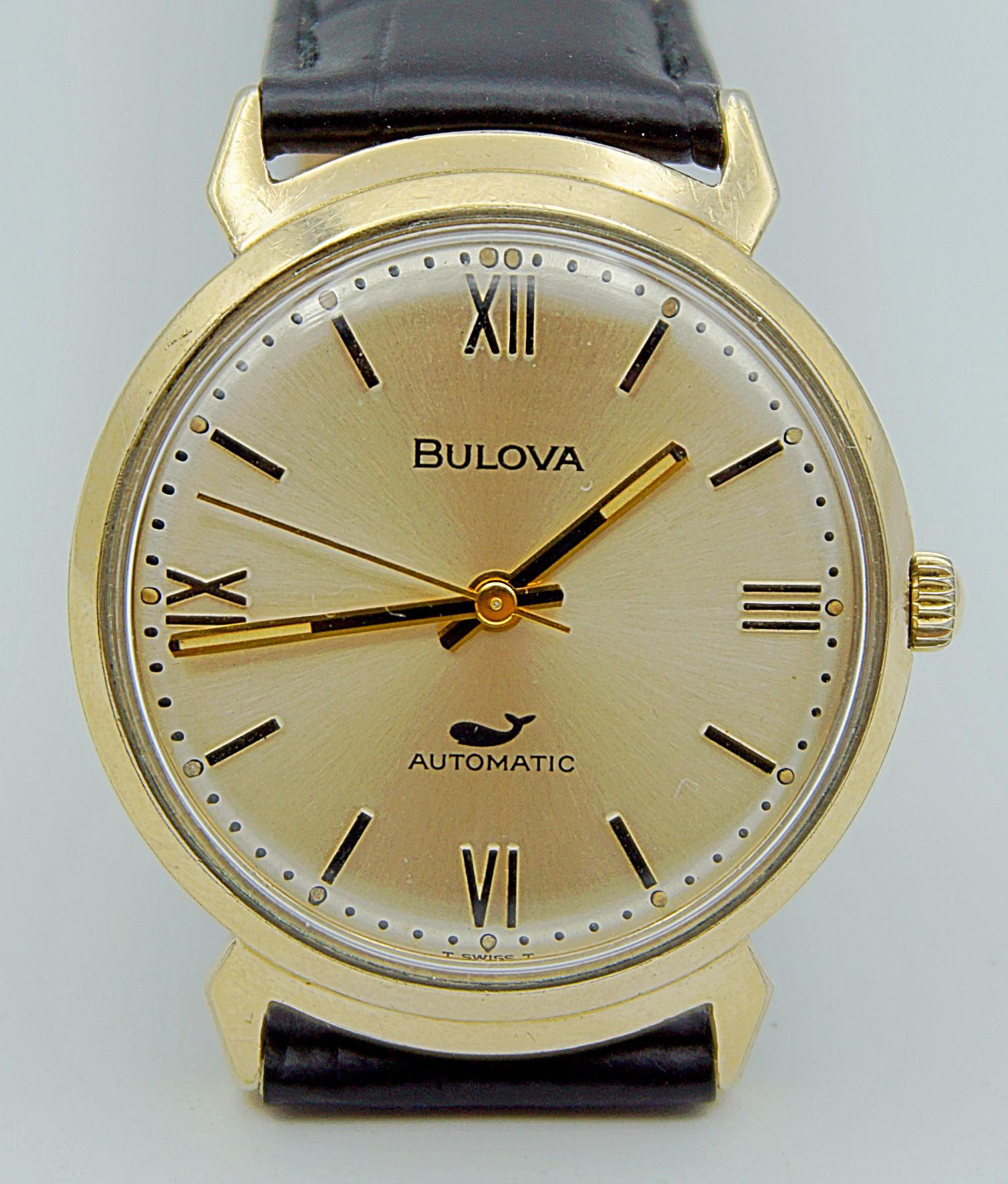 นาฬิกาเก่า BULOVA ออโตเมติก