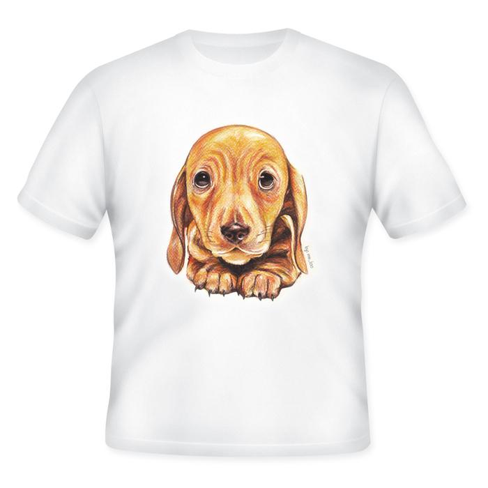 เสื้อยืดพิมพ์ลายน้องหมา (Plead Puppy T-Shirt)