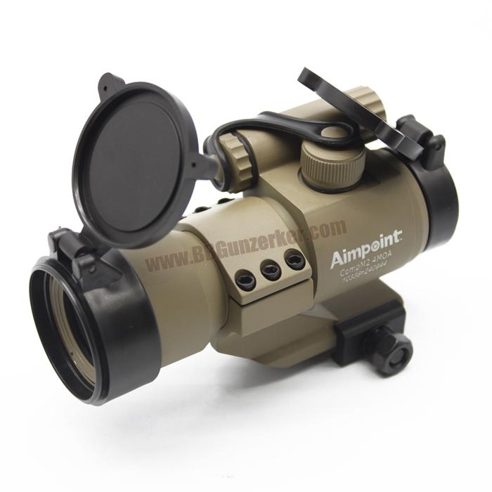 Red Dot Aimpoint Comp M2 ขาสูง สีทราย