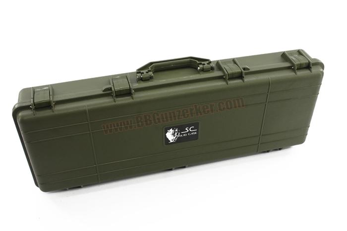 กล่องใส่ปืนยาว Solid Case 85cm สีเขียว